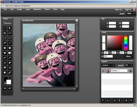 отредактировать фото онлайн бесплатно фотошоп - фото 5